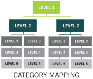 Category Mapping Procurement Source-to-Pay Transformation